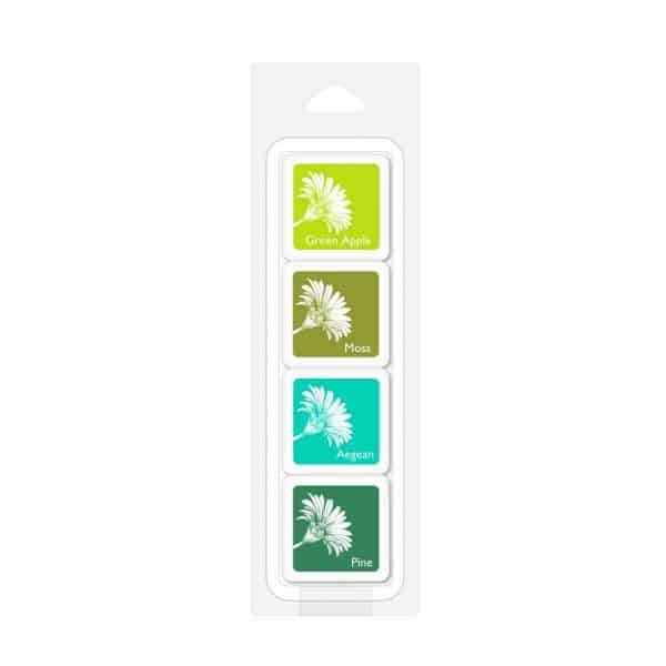 RAIN FOREST BOLD INK CUBES