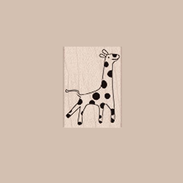 A5007 חותמת גומי על עץ ג'רפה