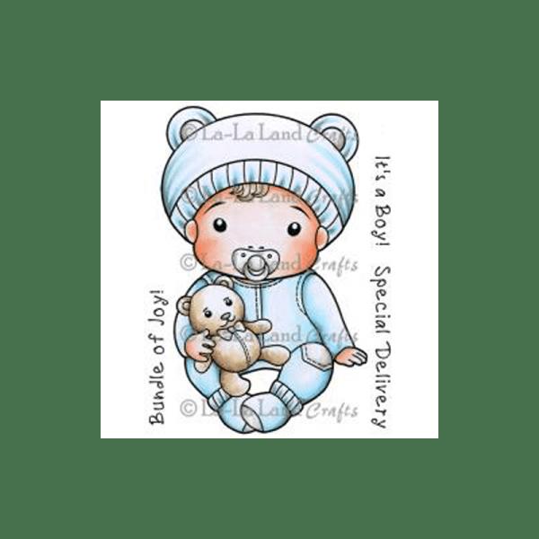 BABY LUCA חותמת גומי אדום לצביעה תינוק