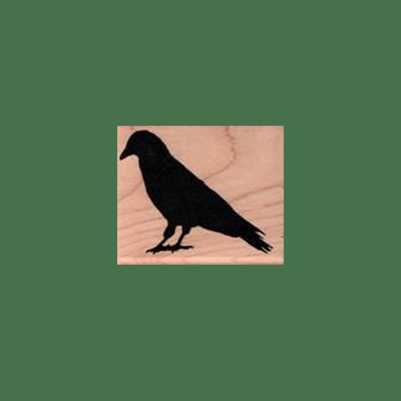 BIRD STANDING חותמת גומי על עת ציפור עומד של טים הולץ