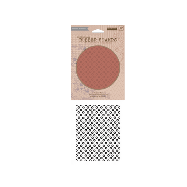 CG454 חותמת גומי רקע בועות