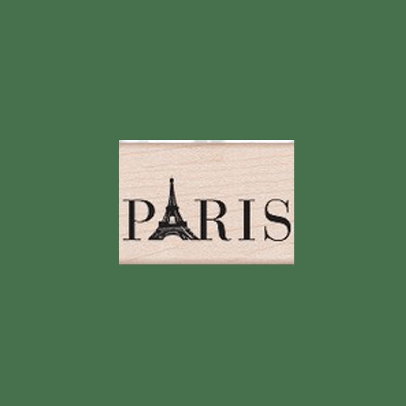 D4984 PARIS ותמת גומי על עץ פריז