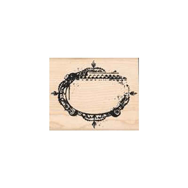 DISTRESS-FRAME חותמת גומי על עץ מסגרת דיסטרס של טים הולץ