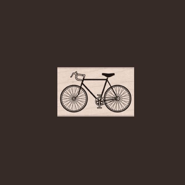E5496 ROAD BIKE חותמת גומי על עץ אופניים