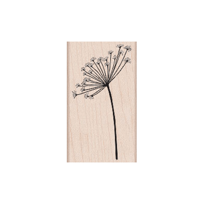 G5311 SILHOUETTE SPRAY חותמת גומי על עץ צמח שן הארי