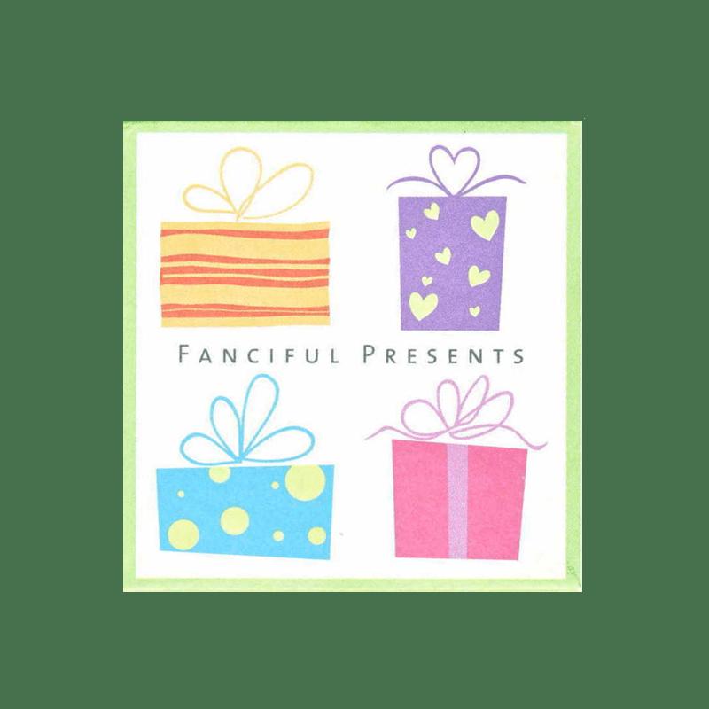 LL961 FANCIFUL PRESENTS חותמות גומי על עץ מתנות קטנות