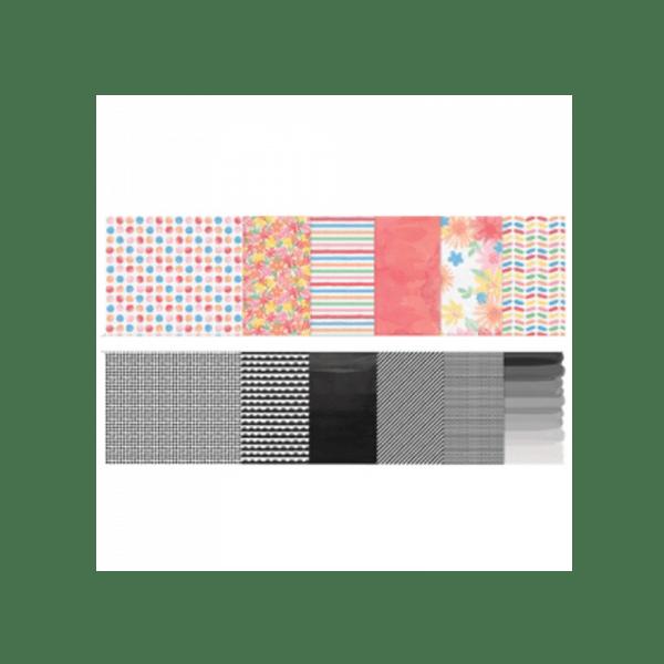 MAKE-AMAZING--PAPER-PACK סטאק נייר מדוגם 6 על 6 אינצ' מבית ריצ'ארד גאריי