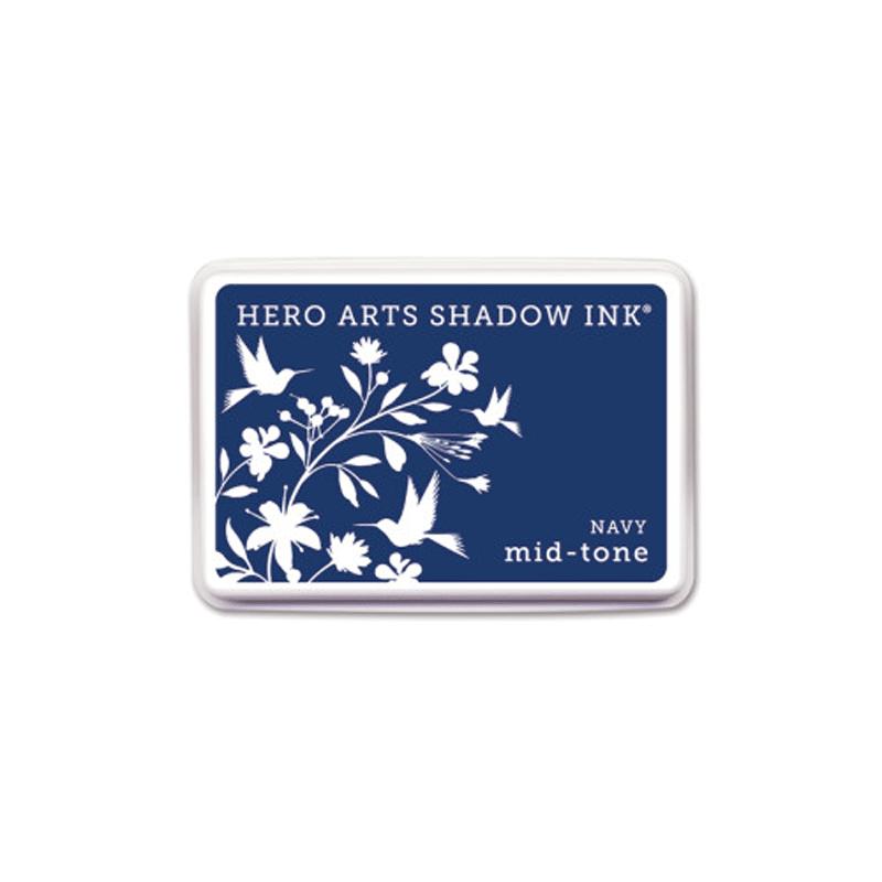 NAVY-MIDTONE דיו צללית כחול נייבי MIDTONE של הירו ארטס