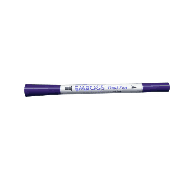 PURPLE-EMBOSS-PEN