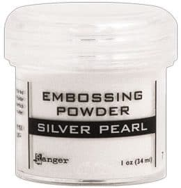 RANGER SILVER PEARL EMBOSSING