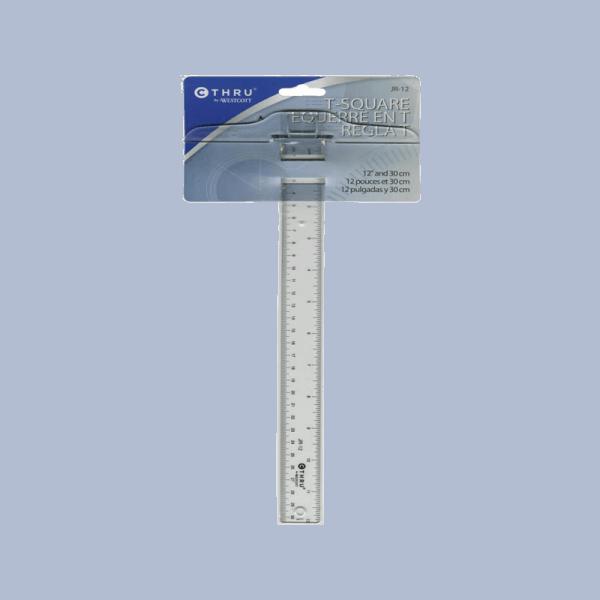 12 INCH 30 CM סרגל T